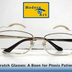 Crutch Glasses A Boon for Ptosis Patient